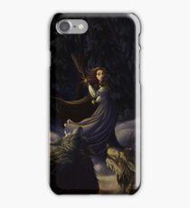 La Belle et Les Loups iPhone Case/Skin