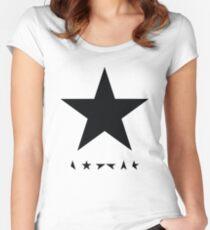Bowie - Blackstar Women's Fitted Scoop T-Shirt