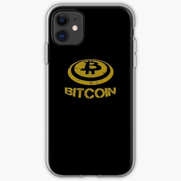 I Love Bitcoin Cryptocurrency iPhone Soft Case