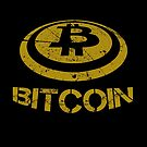 I Love Bitcoin Cryptocurrency by Mark Compton