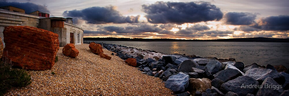 Hurst Castle by Andrew Briggs