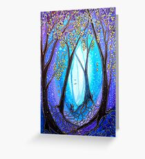 New Beginnings - Trees Greeting Card