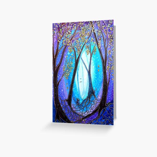 New Beginnings - Trees Greeting Card