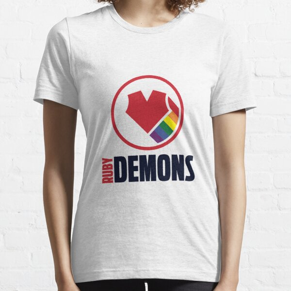 Ruby Demons logo (light background) Essential T-Shirt