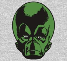 Big Green Mekon Head