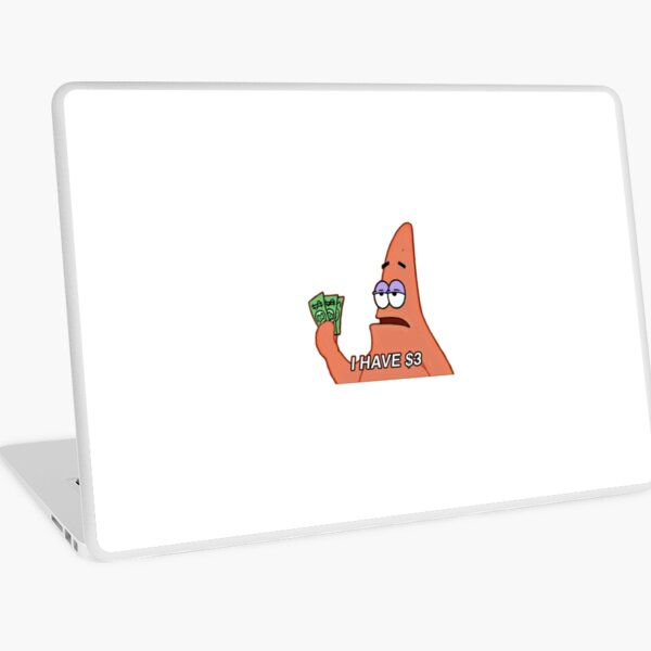 Patrick Star Meme Laptop Folie
