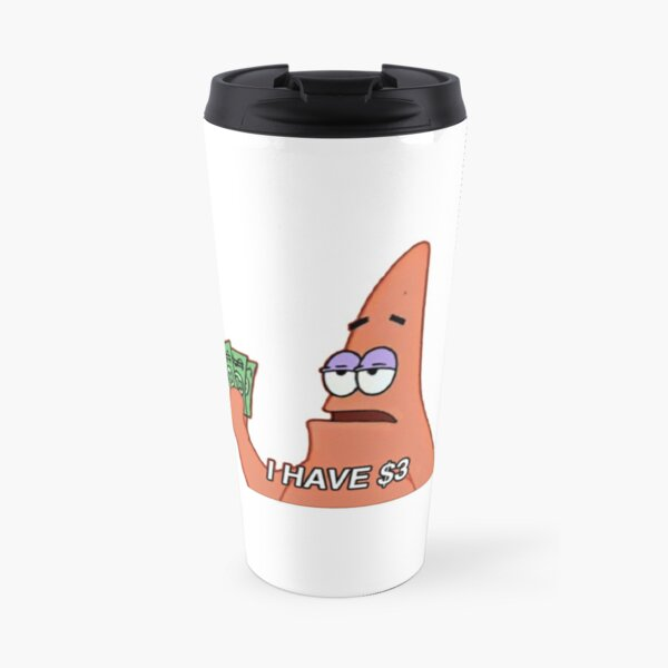 patrick star meme Travel Mug