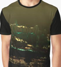 Landscape sunset nature desert 3d illustration background Graphic T-Shirt