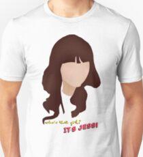 Wer ist sie? Es ist Jess! Slim Fit T-Shirt