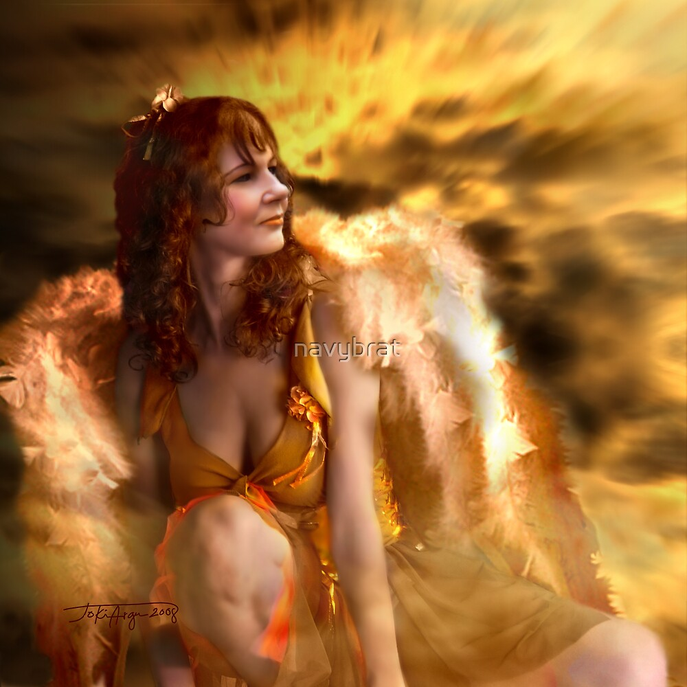 the Golden Angel by navybrat