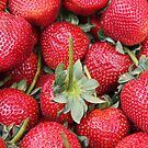 Strawberries at the Market by CherylBee