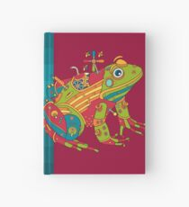 Frog, from the AlphaPod collection Hardcover Journal