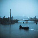 Hong Kong River by Michael Naylor