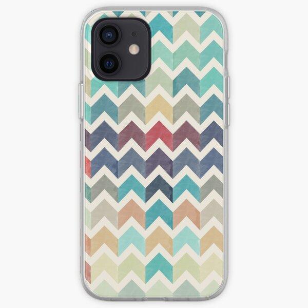 Watercolor Chevron Pattern iPhone Soft Case