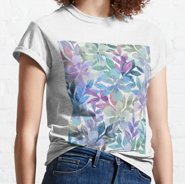 Watercolor Botanical garden Classic T-Shirt