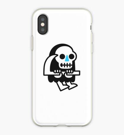 Grim Reaper Guy iPhone Case