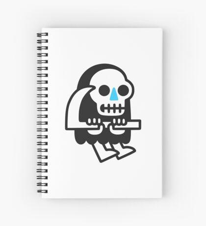 Grim Reaper Guy Spiral Notebook