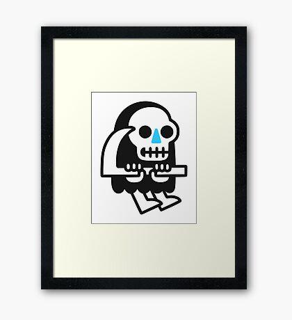Grim Reaper Guy Framed Print