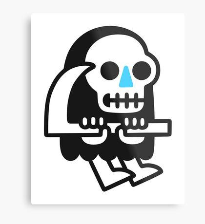 Grim Reaper Guy Metal Print