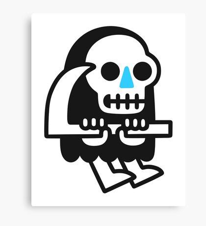 Grim Reaper Guy Canvas Print