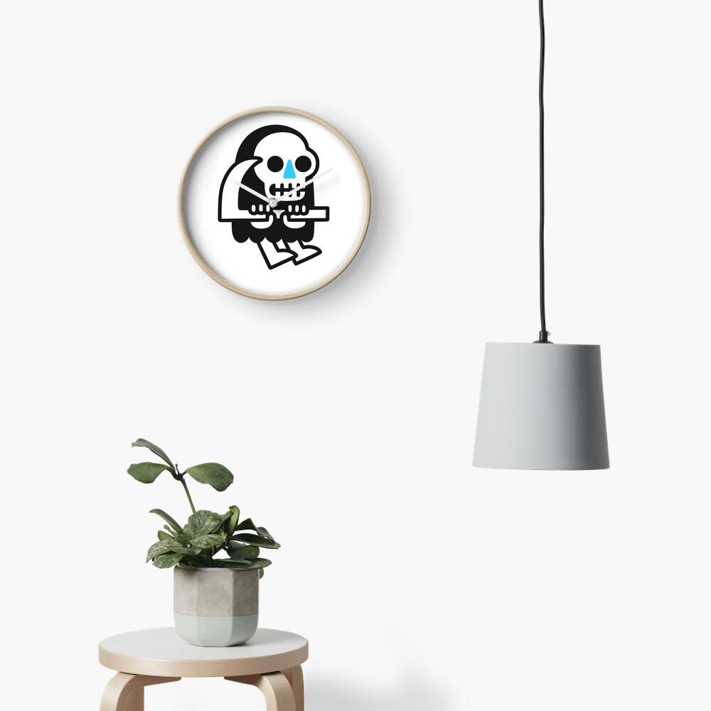Grim Reaper Guy Clock