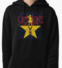The World Of Upside Down Pullover Hoodie