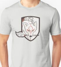 God Hound (without writing) Okami Unisex T-Shirt