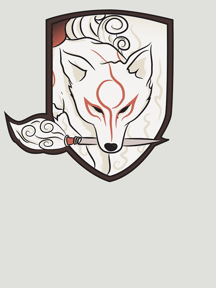 God Hound (without writing) Okami | Unisex T-Shirt