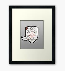 God Hound (without writing) Okami Framed Print