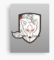 God Hound (without writing) Okami Canvas Print