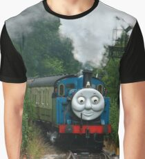 Thomas, Huffing and Puffing up the track Graphic T-Shirt