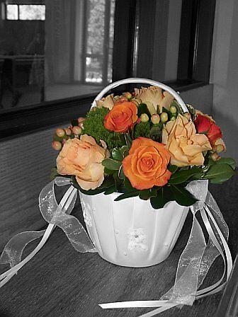 Flower Girl Basket by RodriguezArts