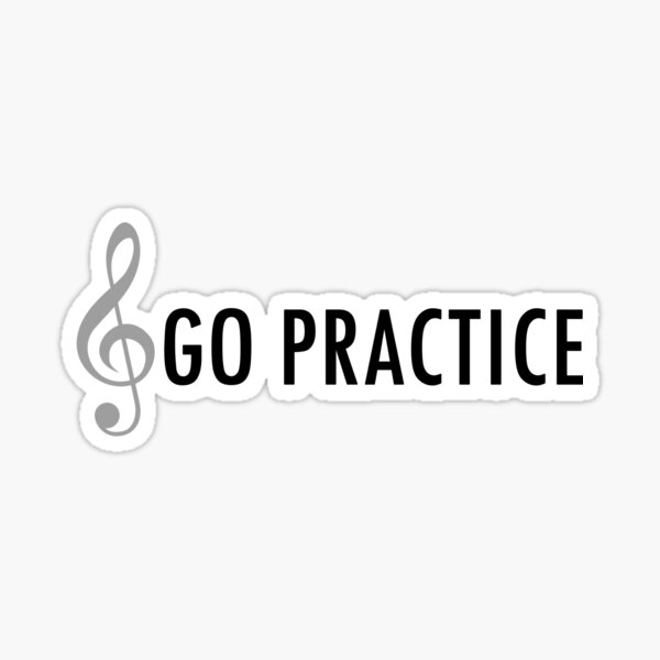 Go Practice Sticker