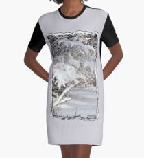 Mother Nature Wears a Bridal Gown... Graphic T-Shirt Dress