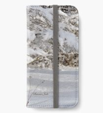 Mother Nature Wears a Bridal Gown... iPhone Wallet/Case/Skin