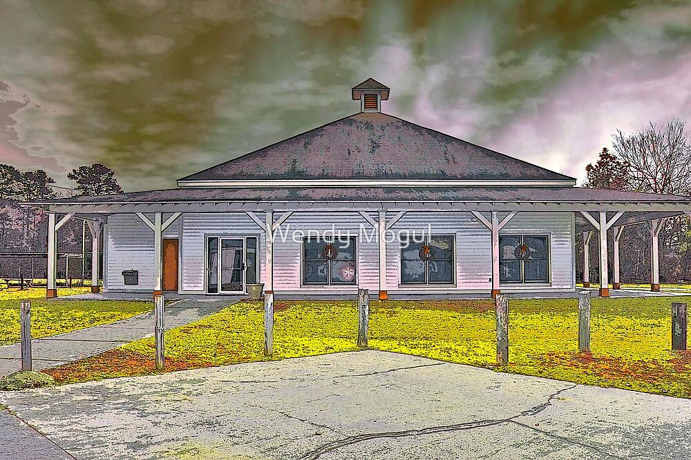Train Depot by Wendy Mogul