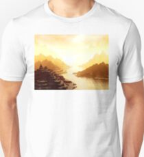 Mysterious Mountains Waterway T-Shirt