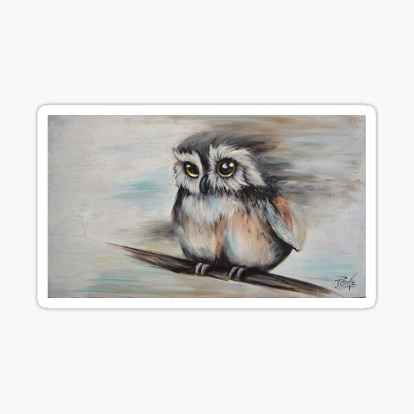 Petite chouette / Little Owl Sticker