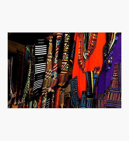Ghana Clothes Photographic Print