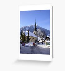 Krajnska Gora in Slovenia Greeting Card