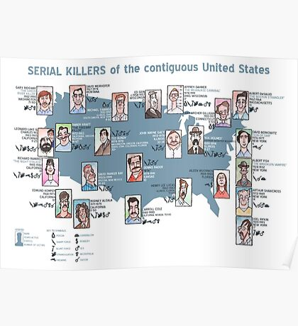 Serial Killers of the USA Poster