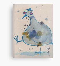 Commuter pigeon Metal Print