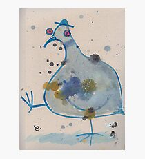 Commuter pigeon Photographic Print