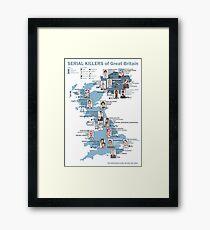 Serial Killers of Great Britain Framed Print