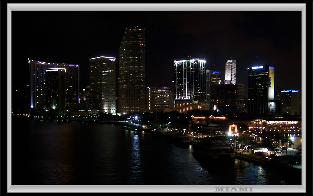 Miami By Night by ULHALL