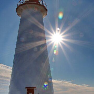 Lighthouse on P.E.I. Canada by AnnDixon