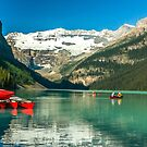 Red Canoes  by robcaddy