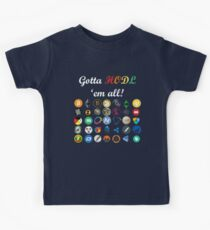 Bitcoin T-shirt Crypto Digital Currency BTC Mining Coin HODL Kids Tee