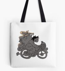 OFF - Motorcyclist Zacharie Tote Bag