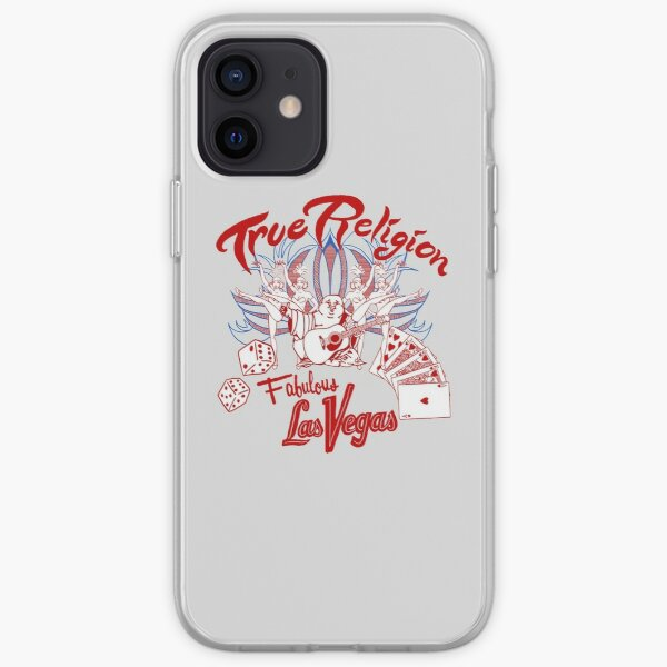 True Religion Buddah design  iPhone Soft Case